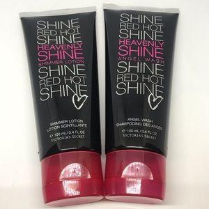 Brand new Victoria Secret body wash and lotion